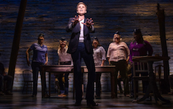Jenn Colella and the cast of 'Come From Away'. Photo by Matthew Murphy.