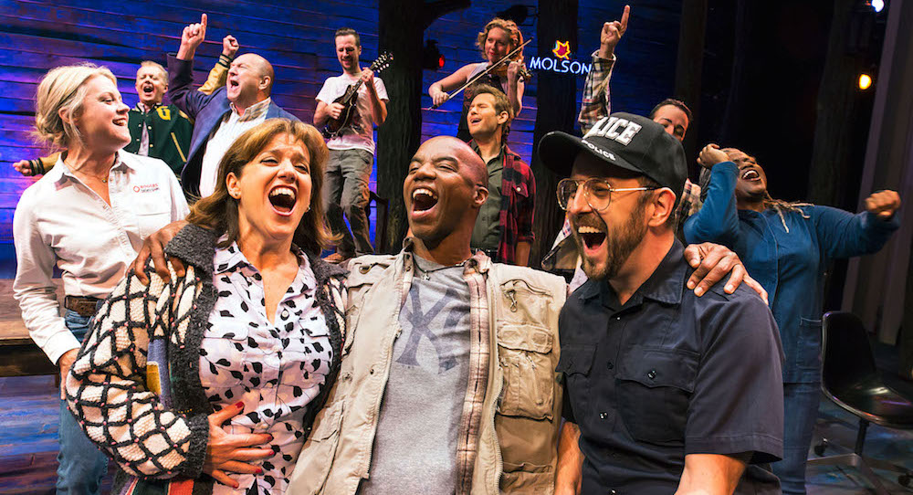 The cast of 'Come From Away'. Photo by Matthew Murphy.