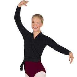 Classic Ballet Wrap Sweater