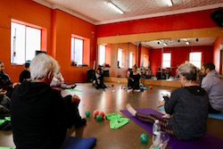 Functional Feet workshop. Photo courtesy of I Can Move.