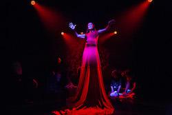 Liz Lea in 'RED'. Photo by Lorna Sim.