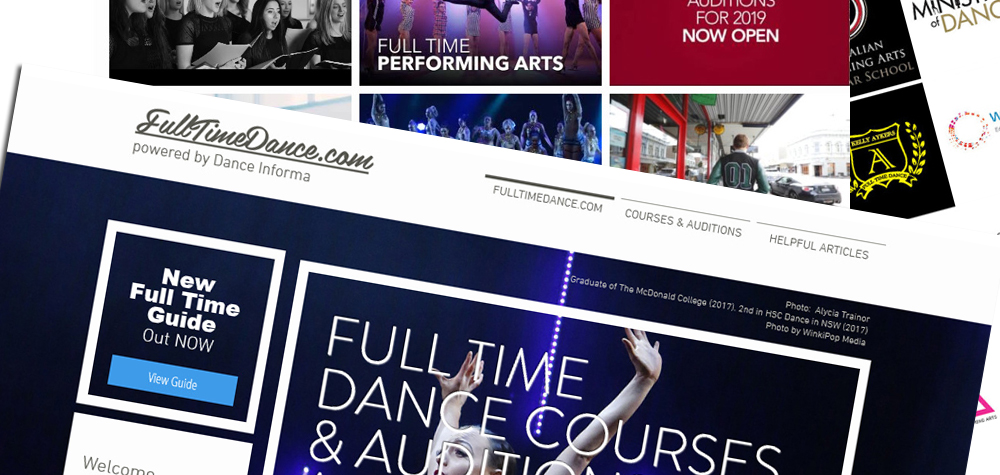 Full Time Dance and Auditions Guide