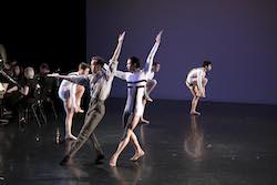 The Australian Ballet's Mason Lovegrove (left). Photo courtesy of The Australian Ballet.