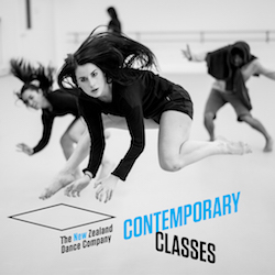 NZDC Contemporary Class. Photo by John McDermott.