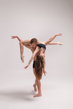NZSD students Isaak McLean and Teagan Tank. Photo by Stephen A'Court.