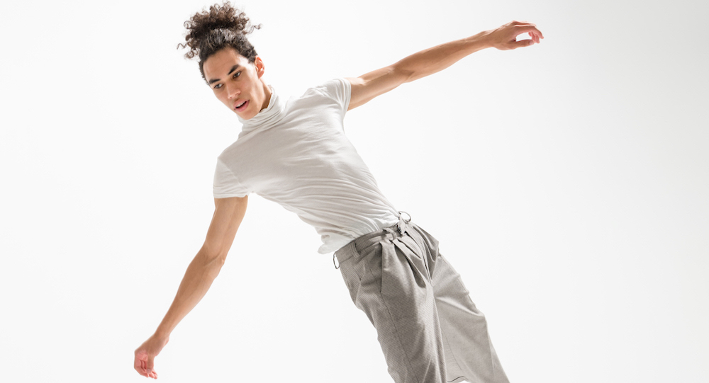 New Zealand School of Dance contemporary dance student Chris Clegg. Photo by Stephen A'Court.