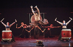 Mathew Lehman and Dancers of West Australian Ballet in 'Takuto' by Eric Gauthier. Photo by Sergey Pevnev.