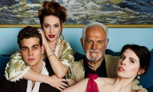 Cast of 'Aspects of Love'. Photo by Chris Parker.