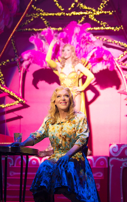 Tony Sheldon as Bernadette in 'Priscilla, Queen of the Desert'. Photo by Ben Symons.