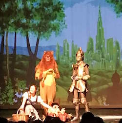 A customer's production of 'The Wizard of Oz'. Photo courtesy of Grosh Digital Backdrops.