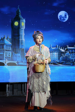 Maranatha Christian in 'Mary Poppins'. Photo courtesy of Grosh Digital Backdrops.