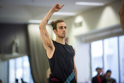 The Australian Ballet's Marcus Morelli. Photo by Kate Longley.