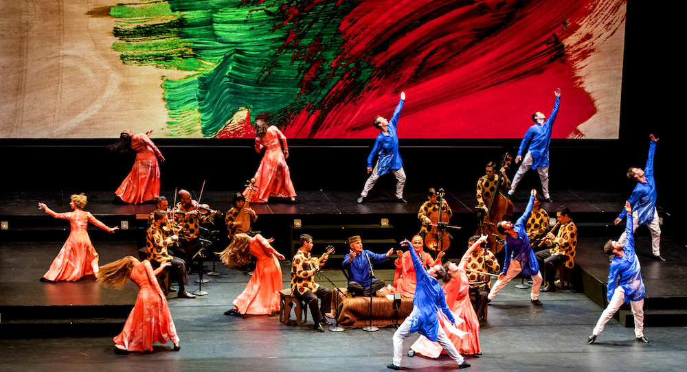 Mark Morris' 'Layla and Majnun'. Photo by Susana Millman.