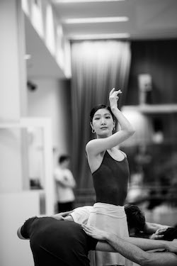 The Australian Ballet's Rina Nemoto. Photo by Kate Longely.