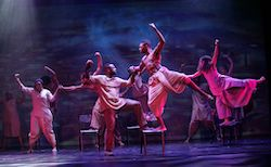 AMPA graduate Thuba Ndibali in 'Madiba the Musical'. Photo by Serge Thomann.