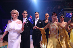 Classroom to Ballroom, Team Captain Dr Adele Hyland AM (center), Australian DanceSport. Photo by Yimsky.
