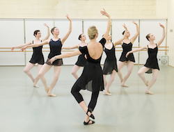 Photo by Elliott Franks, courtesy of the Royal Academy of Dance.