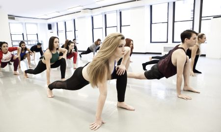 Dancers at Broadway Dance Center