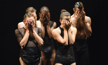 L-E-V Dance Company in 'OCD Love'. Photo by Regina Brocke.