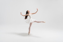 NZSD 3rd Year classical ballet student Teagan Tank. Photo by Stephen A'Court.