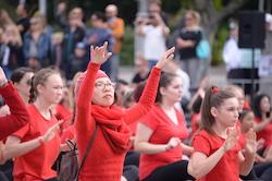 Big Dance 2018, Cathedral Square Sydney. Photo by Elise Lockwood.