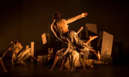 Dance North's 'Dust'. Photo by Pippa Samaya.