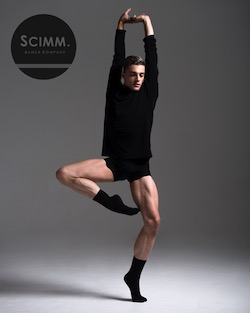 Scott Pokorny of Scimm Dance Company. Photo by Sean Higgins.