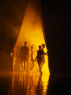 SDC in rehearsal. Photo by Elizabeth Ashley.