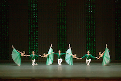 Bolshoi Ballet in 'Emeralds' from 'Jewels'. Photo by Damir Yusupov.