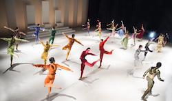 Les Ballets de Monte-Carlo's 'LAC'. Photo by Alice Blangero.