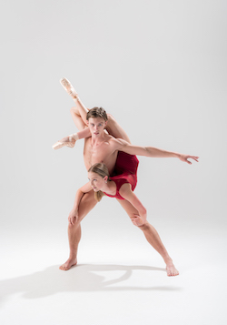 NZSD 3rd Year students Riley-Jane Dickie and Isaak McLean. Photo by Stephen A'Court.