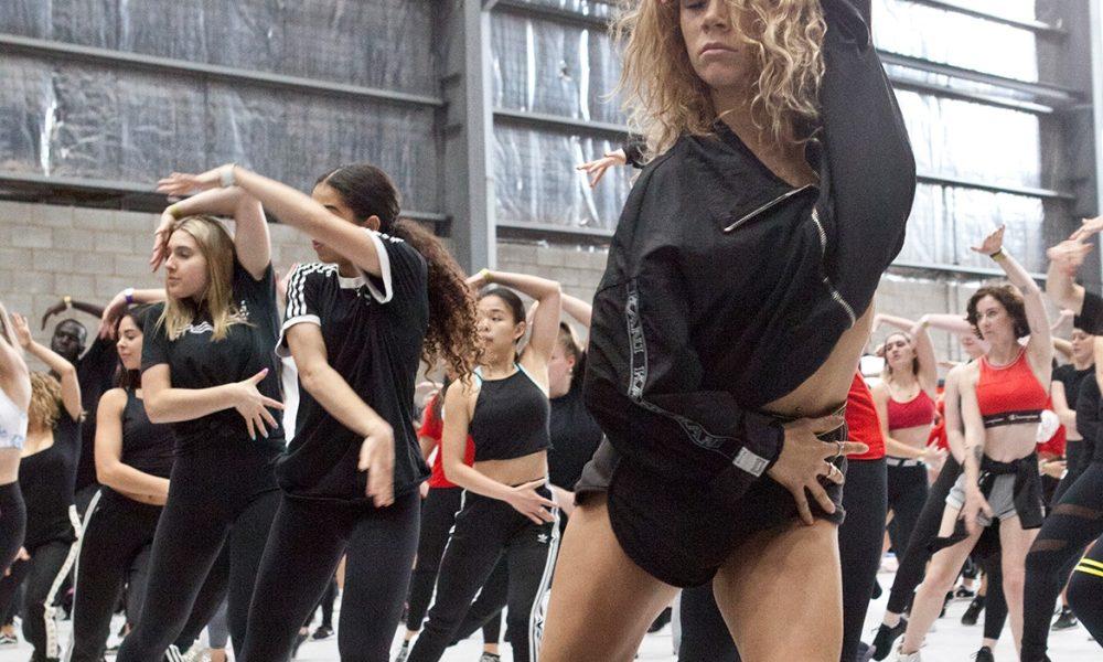 Dancers at VDF in Melbourne. Photo by Belinda Strodder