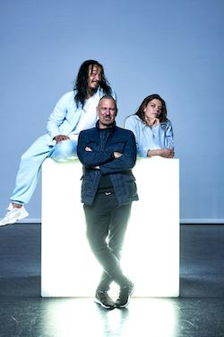 Kimball Wong, Garry Stewart and Zoë Dunwoodie. Photo by Sven Kovac.