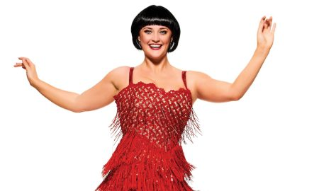 Annie Aitken as Millie in Thoroughly Modern Millie