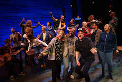 Australian company in 'Come From Away'. Photo by Jeff Busby.