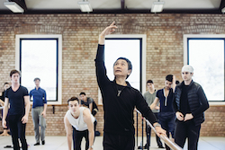 Li Cunxin. Photo by Eduardo Vieira.