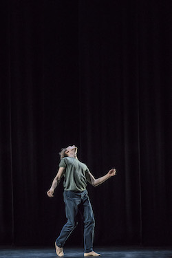 David Hallberg in 'In Absentia' by Kim Brandstrup. Photo by Johan Persson.