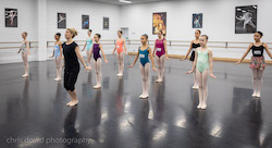 Elizabeth Walker teaching at International Ballet Workshops. Photo by Chris Dowd.