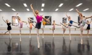 International Ballet Workshops Winter Series students. Photo by Chris Dowd.