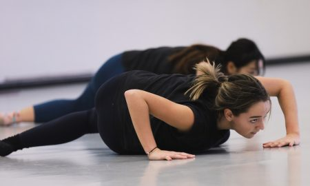 The McDonald College's Senior Contemporary Dance Program. Photo by Erik Sawaya.
