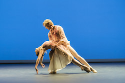 Natalia Osipova and David Hallberg in 'Leaves are Fading' by Anthony Tudor. Photo by Johan Persson.