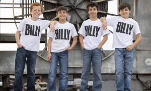 'Billy Elliot the Musical'. Photo by James D. Morgan.