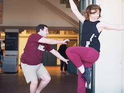 Jamie Winbank and Liz Marcobello. Photo by Elizabeth Ashley.