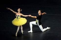 Katherina Markowskaja and Maxim Chashchegorov.