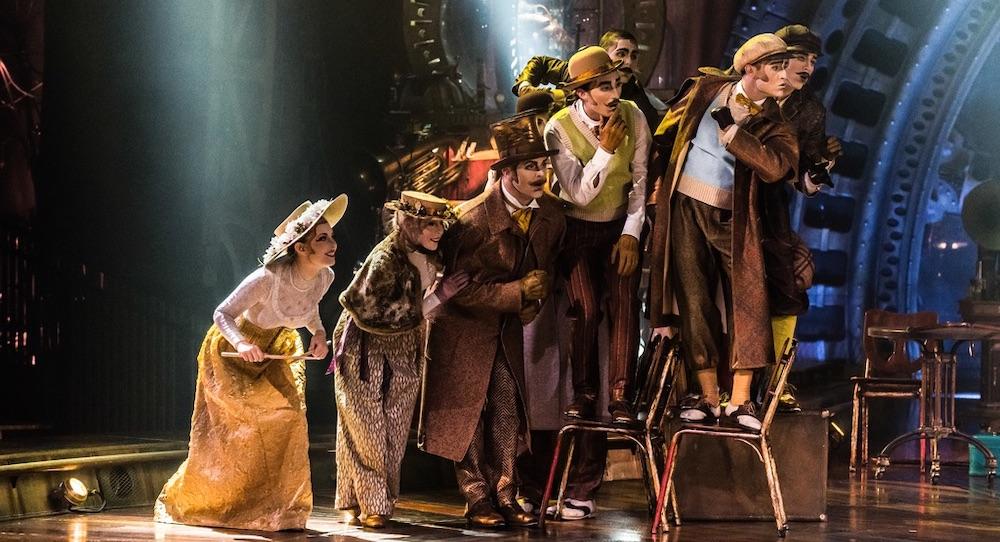 Cirque du Soleil's 'KURIOS'. Photo by Martin Girard.