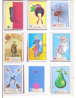 Annie-B Parson's Compositional Elements Cards.