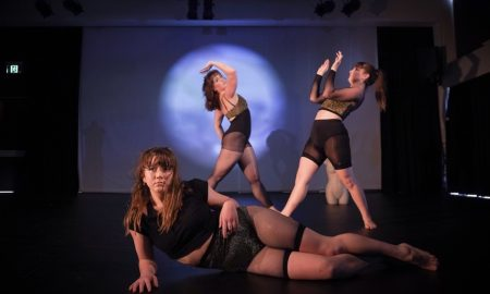 Emma Harrison's 'Madonna' at DirtyFeet Out of the Studio. Photo by Yvonne Chen for Rolling Media Productions.