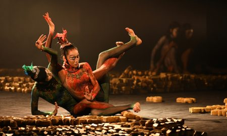 Yang Liping's 'Rite of Spring'. Photo by Yijian Li.