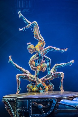 Cirque du Soleil's 'Kurios'. Photo by Martin Girard shootstudio.ca.