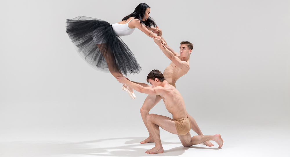 NZSD students Sook Meng Lim, Louis Ahlers and Eden Kew. Photo by Stephen A'Court.